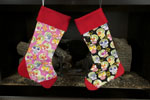 CupCake Lovers Christmas Stocking