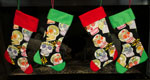 Bakers CupCake Christmas Stocking